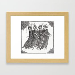 Retreat of The Fears Framed Art Print