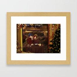 Christmas date - Jerza Framed Art Print