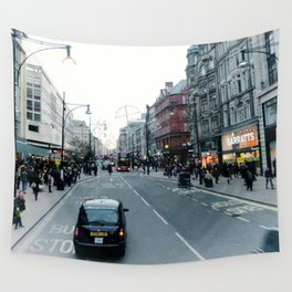hey taxi taxi  Wall Tapestry