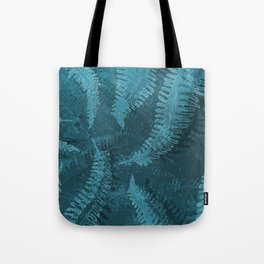 Ferns (light) abstract design Tote Bag