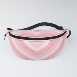 Pink Love Hearts  Fanny Pack
