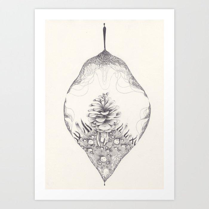 Spirograph Art Print
