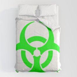 Biohazard Green Comforters
