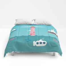 Beside the Seaside Comforters