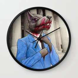 The Wolf of Wall Street Wall Clock