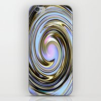 the wire iPhone & iPod Skins featuring Wire spiral by Hannah