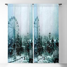 Cold Forest Playground Blackout Curtain