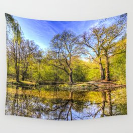 The Tranquil Pond Wall Tapestry