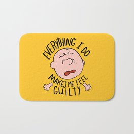 CHARLIE BROWN Bath Mat