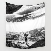 return Wall Tapestries featuring Return to isolation planet by Stoian Hitrov - Sto