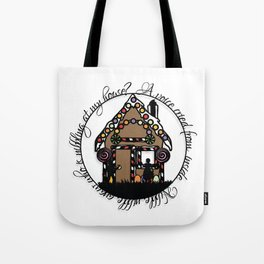 Hansel and Gretel Print Tote Bag