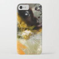 grace iPhone & iPod Cases featuring Grace by gwenola de muralt