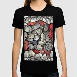 Chaotic 3D Cubes T-shirt