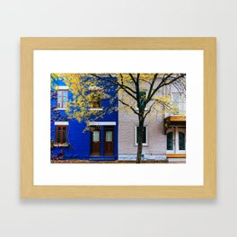 Le Plateau Mont Royal - Montreal, Canada - #11 Framed Art Print