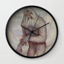 Yeti Wall Clock