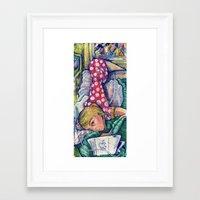 polka dot Framed Art Prints featuring Polka Dot by Liz Haywood