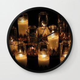 church candles Wall Clock