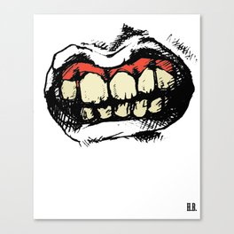 TEETH! Canvas Print