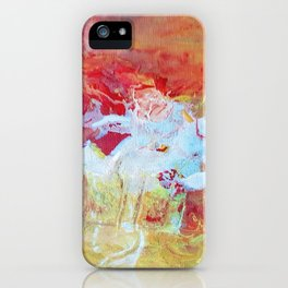 summer sky iPhone Case