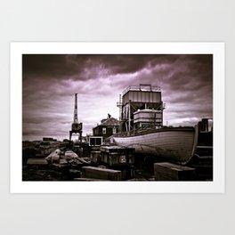 Charlestown Navy Yard Art Print
