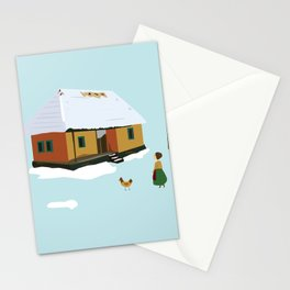 Winter nostalgia Stationery Cards