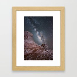 The Milkyway Framed Art Print