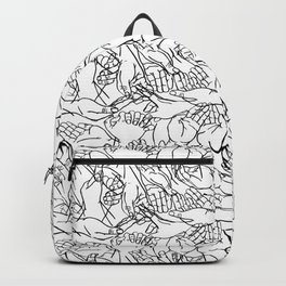 Givers and beggars Backpack