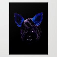 Chihuahua girl Art Print