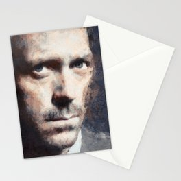 Hugh Laurie painting Stationery Cards