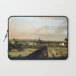 Bernardo Bellotto, Canaletto Vienna Viewed from the Belvedere Palace Laptop Sleeve