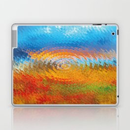 colorful vibrations Laptop & iPad Skin