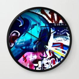 Hobart Street Art Wall Clock