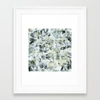mineral Framed Art Prints featuring mineral by clemm