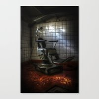 dentist Canvas Prints featuring Dentist horror by Cozmic Photos