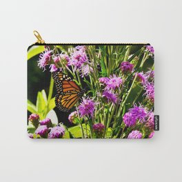 Monarch Butterfly Couple Carry-All Pouch