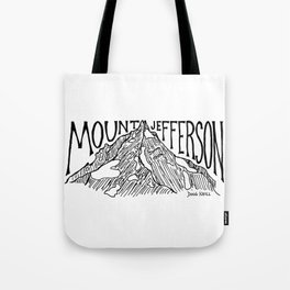 Mount Jefferson Tote Bag