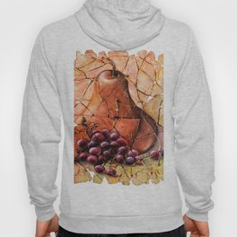 Pear & Grapes Fresco Hoody