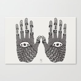 Hand Eye Coordination Canvas Print