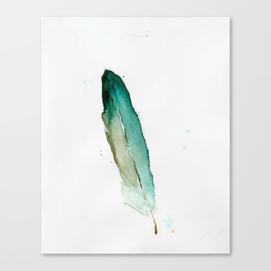 Feather No. 2 Canvas Print