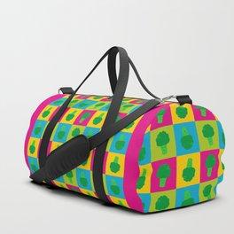 Popart Broccoli Duffle Bag