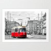vienna Art Prints featuring Vienna by Ira Golenkova
