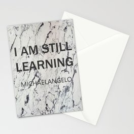 michaelangelo marble collection 2 Stationery Cards