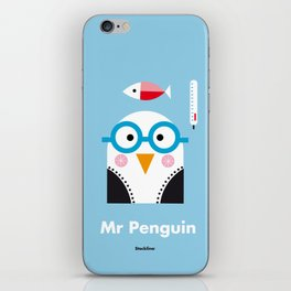 Mr. Penguin iPhone Skin