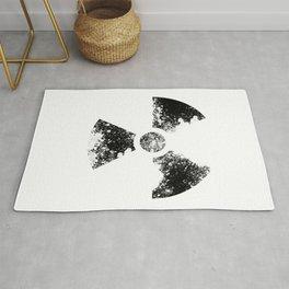 Radioactive symbol- decay Rug
