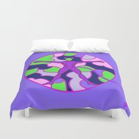 hell Duvet Covers featuring Cell Hell by Sandyshow