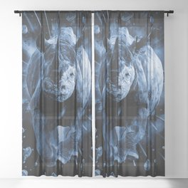 CHARGE!!! Sheer Curtain