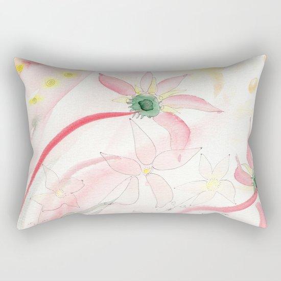 Summer flower meadow Rectangular Pillow