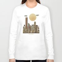 miami Long Sleeve T-shirts featuring miami city  by bri.buckley