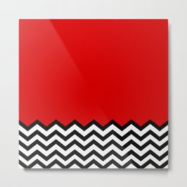 Black Lodge Dreams (Twin Peaks) Metal Print