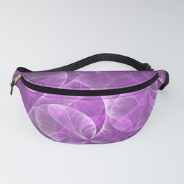 Wild Pink Dream Abstract Fractal Art Fanny Pack